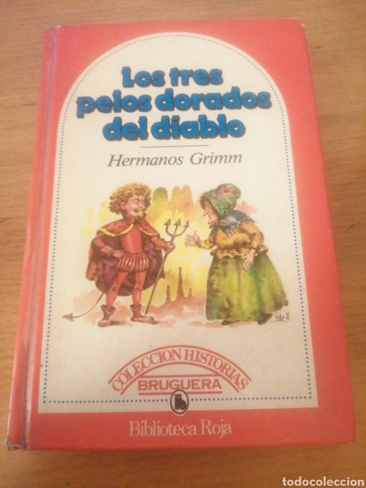 LOS TRES PELOS DORADOS DEL DIABLO: LA OCA DORADA.- GRIMM, JACOB (Libros Antiguos, Raros y Curiosos - Literatura Infantil y Juvenil - Cuentos)