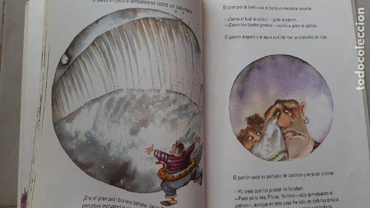 Libros antiguos: ANTIGUO LIBRO TOMO CUENTOS DE HUMOS GLORIA FUERTES UN PULPO EN UN GARAJE SUSAETA 1999 - Foto 2 - 269081113