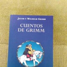 Libros antiguos: CUENTOS DE GRIMM - OPTIMA TAPA DURA. Lote 269972068