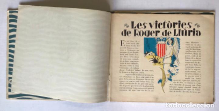 Libros antiguos: LES VICTÒRIES DE ROGER DE LLURIA. - [Josep Narro il·lustr.] - Foto 2 - 273104398