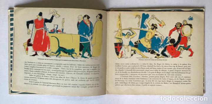Libros antiguos: LES VICTÒRIES DE ROGER DE LLURIA. - [Josep Narro il·lustr.] - Foto 4 - 273104398