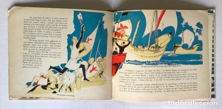 Libros antiguos: LES VICTÒRIES DE ROGER DE LLURIA. - [Josep Narro il·lustr.] - Foto 5 - 273104398