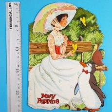 Livres anciens: CUENTO TROQUELADO MARY POPPINS, BASADO EN LA PELICULA DE WALT DISNEY, EDIGRAF Nº 62 1972. Lote 273941813