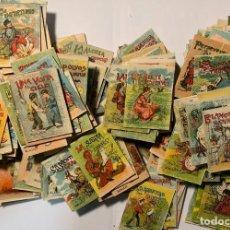 Libros antiguos: CUENTOS DE CALLEJA. 384 LIBRITOS. DIFERENTES SERIES. SE VENDEN JUNTOS O POR LOTES.. Lote 277238983