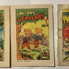 Libros antiguos: TESORO DE CUENTOS BRUGUERA. SERIE 2 Y 4. Lote 277240928