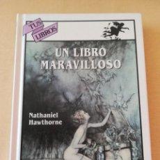 Libros antiguos: LIBRO ANAYA - COLECCIÓN TUS LIBROS Nº 63 UN LIBRO MARAVILLOSO - NATHANIEL HAWTHORNE. Lote 277297093