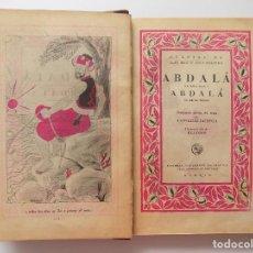 Libros antiguos: LIBRERIA GHOTICA. CUENTOS DE LAS MIL Y UNA NOCHES.1936.SATURNINO CALLEJA. FOLIO MENOR. MUY ILUSTRADO. Lote 277833308