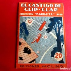 Libros antiguos: COLECCIÓN MARUJITA Nº 10 EDICIONES MOLINO 1ª EDICIÓN 1934. Lote 278596308