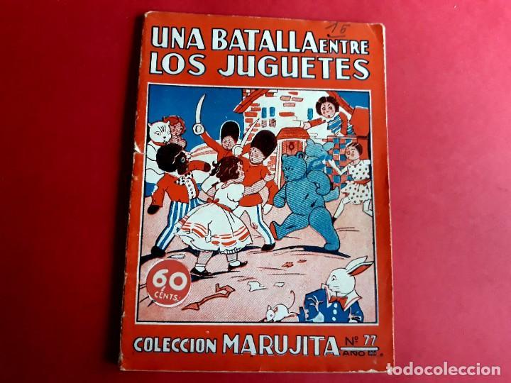 COLECCIÓN MARUJITA Nº 77 EDICIONES MOLINO (Libros Antiguos, Raros y Curiosos - Literatura Infantil y Juvenil - Cuentos)