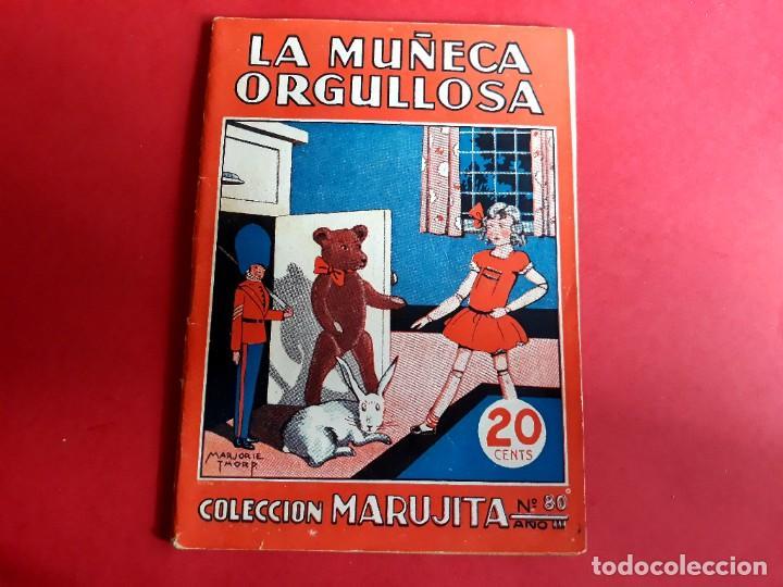 COLECCIÓN MARUJITA Nº 80 EDICIONES MOLINO 1ª EDICIÓN 1935 (Libros Antiguos, Raros y Curiosos - Literatura Infantil y Juvenil - Cuentos)