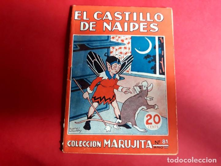 COLECCIÓN MARUJITA Nº 81 EDICIONES MOLINO 1ª EDICIÓN 1935 (Libros Antiguos, Raros y Curiosos - Literatura Infantil y Juvenil - Cuentos)