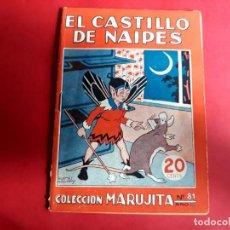 Libros antiguos: COLECCIÓN MARUJITA Nº 81 EDICIONES MOLINO 1ª EDICIÓN 1935. Lote 278598693