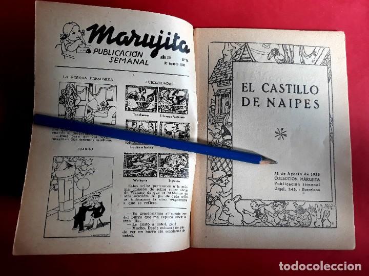 Libros antiguos: Colección Marujita Nº 81 Ediciones Molino 1ª Edición 1935 - Foto 2 - 278598693