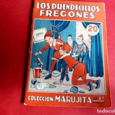 Libros antiguos: COLECCIÓN MARUJITA Nº 87 EDICIONES MOLINO 1ª EDICIÓN 1935. Lote 278600753