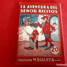 Libros antiguos: COLECCIÓN MARUJITA Nº 93 EDICIONES MOLINO 1ª EDICIÓN 1935. Lote 278602773