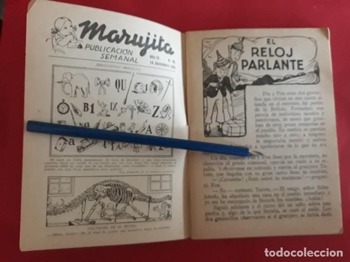 Libros antiguos: Colección Marujita Nº 94 Ediciones Molino 1ª Edición 1935 - Foto 2 - 278603803