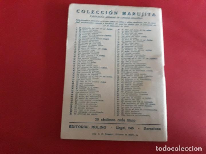Libros antiguos: Colección Marujita Nº 94 Ediciones Molino 1ª Edición 1935 - Foto 3 - 278603803
