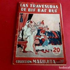 Libros antiguos: COLECCIÓN MARUJITA Nº 103 EDICIONES MOLINO 1ª EDICIÓN 1 FEBRERO 1936. Lote 278614603