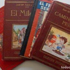 Libros antiguos: 4 / JOSÉ Mª FOLCH Y TORRES / EL MILAGRO + EL INGENIO DE PAULINA + CAMINOS PERDIDOS + EL FRACASO D.... Lote 278555883