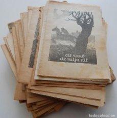 Libros antiguos: 92 LLIBRES COL.LECCIÓ D'EN PATUFET / 932 1028 1029 1032 1036 1092 1097 ... + ALGUNES REVISTES. Lote 278448363