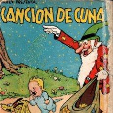 Libros antiguos: WALT DISNEY . CANCIÓN DE CUNA (MOLINO, 1935). Lote 280432233