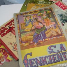 Libros antiguos: LOTE NINOS GRAMATICA INFANTIL CALENDARIO DE OFICIOS CENICIENTA FOURNIER MINGOTE ABC EDITORIAL BRUCH. Lote 282252228