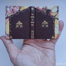 Livros antigos: LA CASITA DE CHOCOLATE (1953?). FHER. MINIATURA ¡¡ ENCUADERNACIÓN ARTESANAL !!. Lote 287200358
