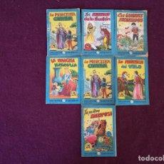 Livros antigos: LOTE DE 7 ANTIGUOS LIBRITOS INFANTILES DE LA GRAN COLECCIÓN BLANCANIEVES, VARIOS NÚMEROS. Lote 287233123
