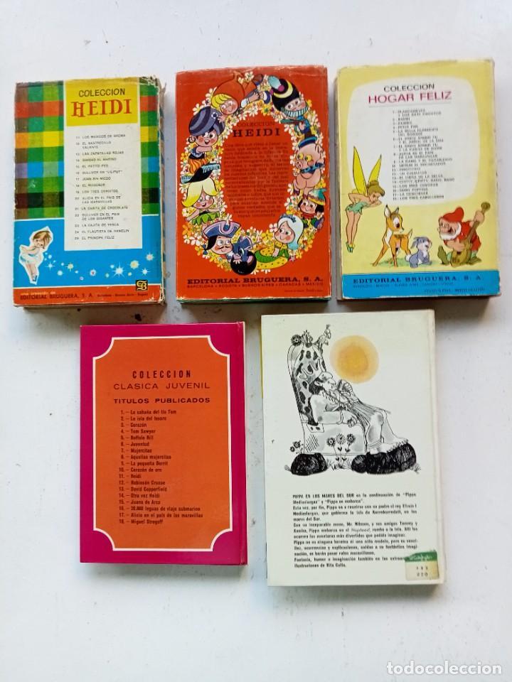 Libros antiguos: 5 cuentos y novelas infantiles. Bruguera, Juventud y Fher. Años 70. Cenicienta primera edición. - Foto 2 - 287378473