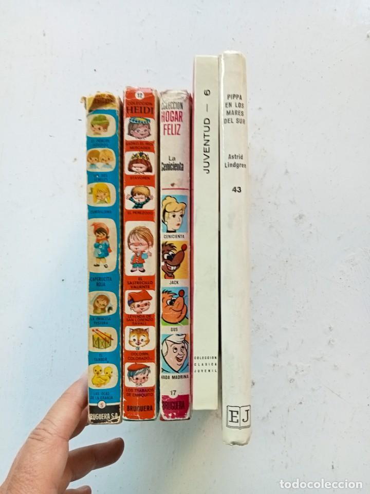 Libros antiguos: 5 cuentos y novelas infantiles. Bruguera, Juventud y Fher. Años 70. Cenicienta primera edición. - Foto 3 - 287378473