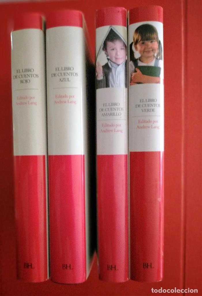 Libros antiguos: el libro de cuentos andrew lang completo 4 tomos cuentos verde-amarillo-azul-rojo - Foto 3 - 287483498
