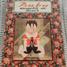 Libros antiguos: CUENTO BUBY ENCUENTRA UN TESORO, MAGDA DONATO, ILUSTRACIONES MAX RAMOS, EDITORIAL RIVADENEYRA, MADRI. Lote 287658438