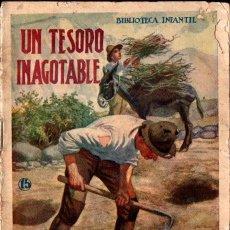 Libros antiguos: UN TESORO INAGOTABLE . BIBLIOTECA INFANTIL SOPENA. Lote 288698413