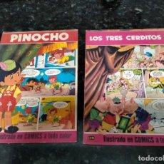 Libros antiguos: CUENTOS DE PINOCHO Y LOS TRES CERDITOS EDITORIAL LAIDA. Lote 288985208