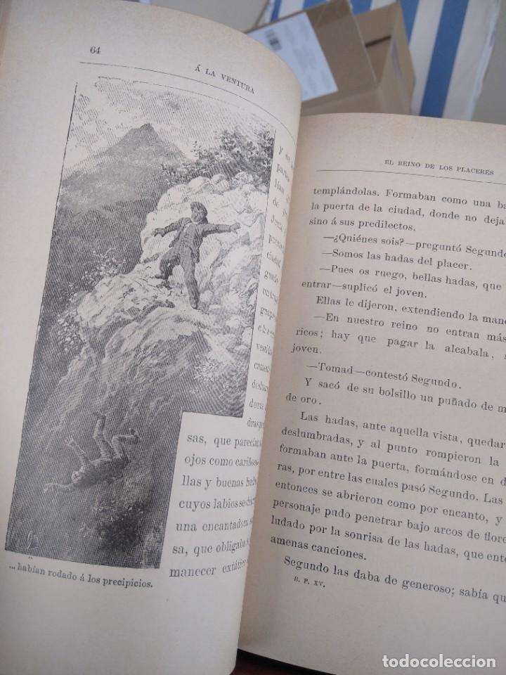 Libros antiguos: A LA VENTURA-CUENTOS FANTASTICOS-CORDELIA-BIBLIOTECA PERLA-EDITORIAL CALLEJA-S/F-EXCELENTE - Foto 10 - 289442943