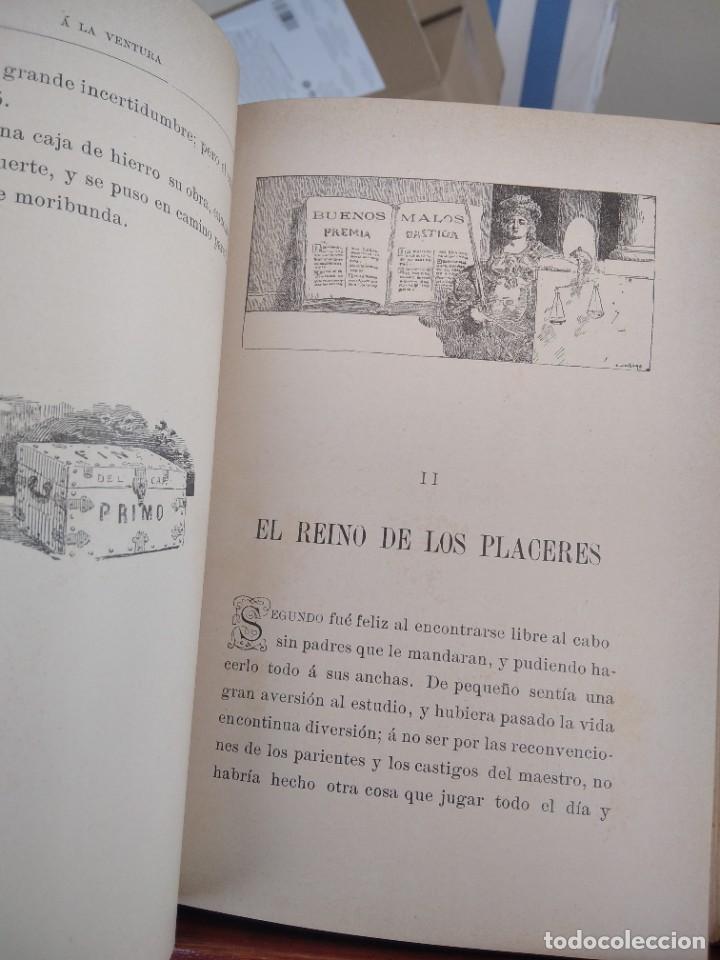 Libros antiguos: A LA VENTURA-CUENTOS FANTASTICOS-CORDELIA-BIBLIOTECA PERLA-EDITORIAL CALLEJA-S/F-EXCELENTE - Foto 11 - 289442943