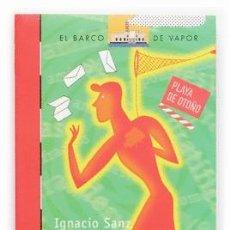 Libros antiguos: LIBROS BARCO DE VAPOR EDITORIAL SM EL DOMADOR DE PALABRAS. Lote 291903163