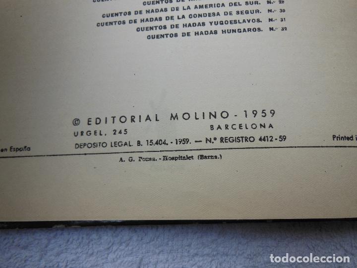 Libros antiguos: Cuentos de Hadas Turcos , Edt Molino , 1969 .Originales Eduado Macho Quevedo, Cubierta Pablo Ramïrez - Foto 7 - 293577148