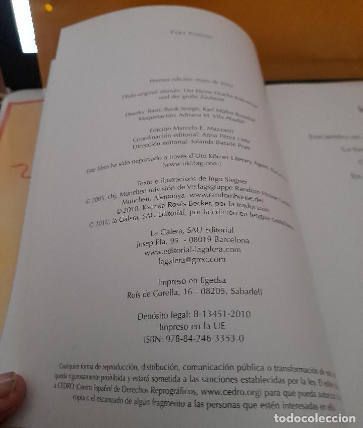 Libros antiguos: CUENTO PEQUEÑO DRAGON COCO Y EL GRAN MAGO INGO SIEGNER - Foto 2 - 293605068