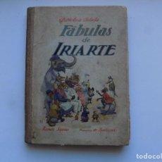 Libros antiguos: LIBRERIA GHOTICA. FÁBULAS DE IRIARTE. BIBLIOTECA SELECTA. SOPENA 1910. MUY ILUSTRADO.. Lote 295977438