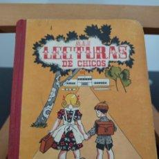 Libros antiguos: MAS LECTURAS DE CHICOS HIJOS DE SANTIAGO RODRIGUEZ-BURGOS 4A EDICIÓN 1962 SEGUNDO LIBRO. Lote 296613818