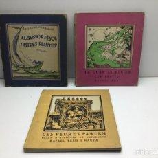 Libros antiguos: LOT LLIBRES COMISSIONAT DE PROPAGANDA GENERALITAT CATALUNYA -1937/38. Lote 296633898