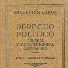 Libros antiguos: 1928 DERECHO POLITICO. Lote 21276803