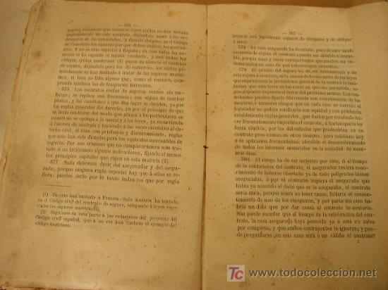 Libros antiguos: ELEMENTOS DE DERECHO CIVIL Y PENAL DE ESPAÑA,PRECEDIDOS DE UNA RESEÑA HISTÓRICA DE LA LEGISLACIÓN - - Foto 5 - 22712731