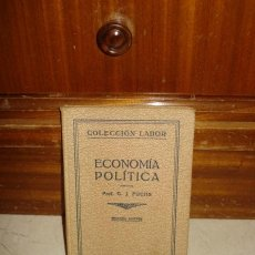Libros antiguos: ECONOMÍA POLÍTICA. Lote 6445150