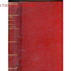 Libros antiguos: 1884. ECONOMIA Y SOCIEDAD DEL XIX. TENEDOR LIBROS.PIEL. Lote 26519000
