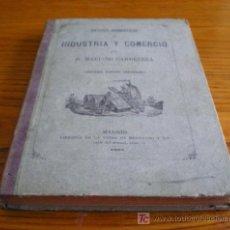 Libros antiguos: NOCIONES ELEMENTALES DE INDUSTRIA Y COMERCIO (1887). Lote 21183992
