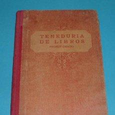 Libros antiguos: TENEDURIA DE LIBROS POR PARTIDA DOBLE. PRIMER GRADO. EDIT. F.T.D. BARCELONA 1932 ( L03 ). Lote 23885486
