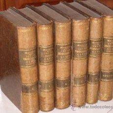 Libros antiguos: LEY DE ENJUICIAMIENTO CIVIL 6T POR J.Mª MANRESA Y NAVARRO, IGNACIO MIQUEL Y JOSÉ REUS EN 1856-1869. Lote 24672382