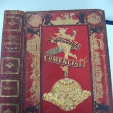 Libros antiguos: ENCICLOPEDIA COMERCIAL TOMO I (D. ANTONIO TORRENTS MONNER) SOLÁ-SAGALÉS,EDITOR-1884. Lote 17354988